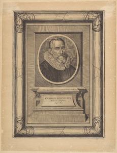 Portret van Ewaldus Schrevelius (1575-1647)