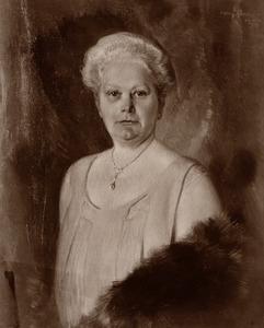 Portret van Susanna Frederika Hofman (1872-1948)