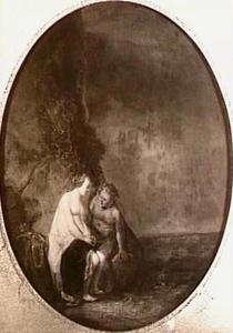 Bacchus vertroost Ariadne op Naxos