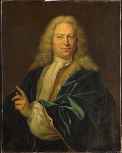 Portret van Jean Henri des H.R. Rijksgraaf van Heemskerck (1689-1730)