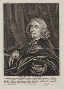 Portret van Cornelis Jonson van Ceulen (1593-1661)