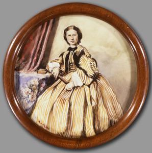 Portret van Henriette Caroline Pauline Cecilia Bosch van Drakestein (1838-1870)