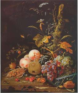 Bosgrond met vruchten