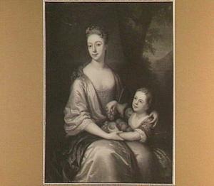 Portret van een vrouw en kind