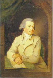 Portret van Hendrik Hoogers (1747-1814)