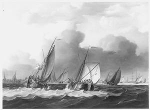 De aankomst van de Franse 131-ste Demi-Brigade de Bataille in Vlissingen, 1795