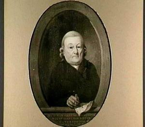 Portret van dhr. Van Galen