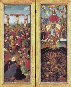 De kruisiging; het Laatste Oordeel