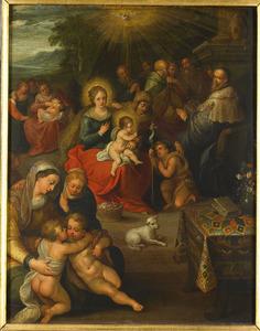 Allegorie op het Christuskind als het Lam Gods