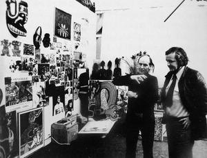 Portret van Corneille en Ed Wingen