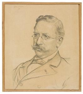 Portret van Abraham Bredius (1855-1946)