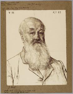 Portret van Dr. J.E. de Vrij