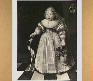 Kinderportret van Ida Catharina van Paffenrode (1631-1674)