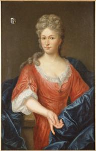 Portret van Eva Verloren, echtgenote van Cornelis Christoffel van Akerlaken (1741-1799)
