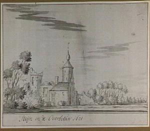 Kasteel Steijn in de Overbetuwe in 1621