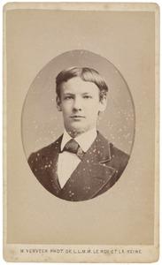 Portret van waarschijnlijk Maarten Iman Pauw van Wieldrecht (1860-1913)