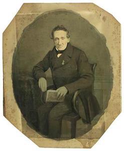 Portret van Willem Dignus de Jonge (1795-1864)