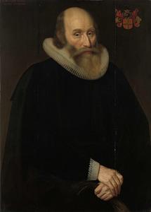 Portret van Antonius Antonides van der Linden ( -1633)