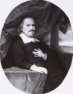 Portret van een man, waarschijnlijk Willem Piso (?-1678)