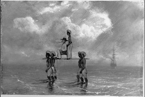 Reis van Suez naar Nagasaki via Oost-Indië: Landing te Muntox, Banka