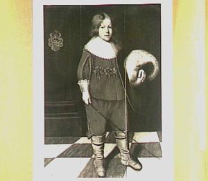 Portret van Wytze van Cammingha (1629-1652) op 5-jarige leeftijd