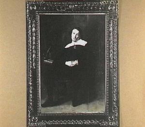 Portret van Passchier de Fijne (1588-1667), predikant te Haarlem