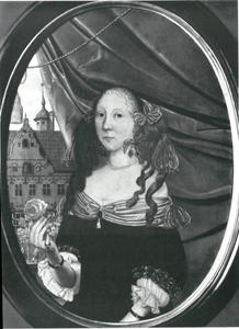 Portret van Anna Schack-Blome (1632-1688)