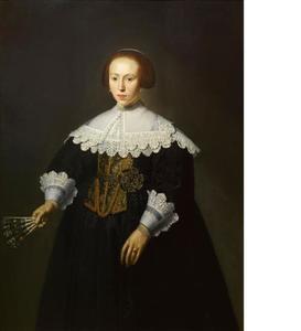 Portret van een 27-jarige vrouw