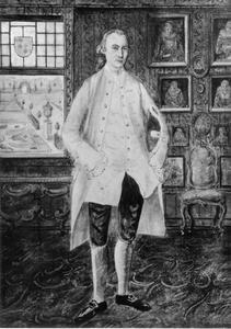 Portret van Jean Baptiste d'Aumerie (1708-1774)