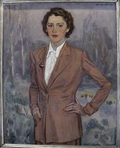 Portret van Jacque van Abbe (1913-1962)