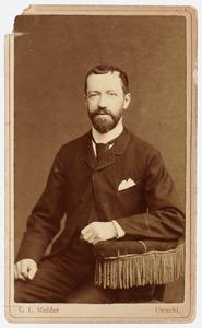 Portret van Henri Willem Meertens (1836-1902)