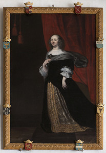 Portret van Margaretha Turnor (1613-1700)
