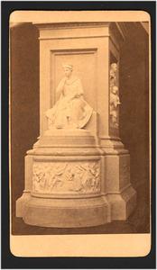 Ontwerp voor het voetstuk van het Monument 1813 te Den Haag van J.Ph. Koelman