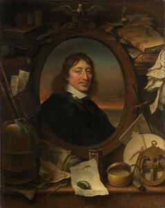 Portret van Gerard Pietersz Hulft (1621-1656)