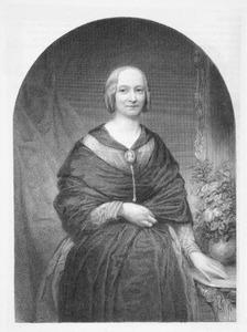 Portret van Maria Jacoba E.E. van Zijll (1825-1850)