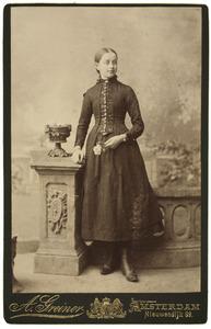 Portret van Juliana Maria de Leur (1875-)