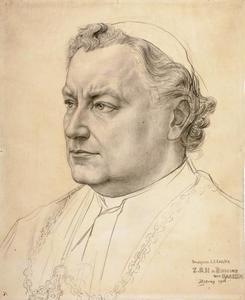 Portret van Augustinus Josephus Callier (1849-1928)