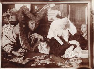 De geldwisselaar en zijn vrouw