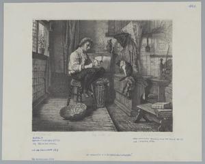 De vrije uren van een dorpsschoolmeester in vroeger tijd