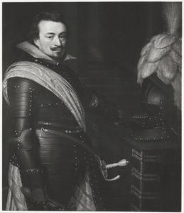 Portret van Jan VIII 'de Jongste' graaf van Nassau-Siegen (1583-1638)