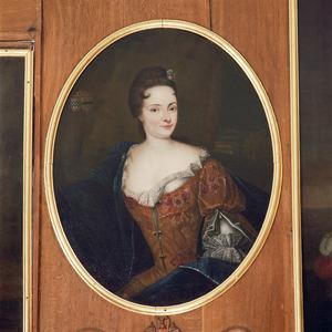 Portret van Ursula Philippota van Raesfelt (1643-1721)