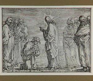 Christus geneest een melaatse (Mattheüs 8:1-13)