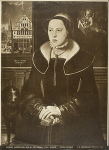 Portret van Jacquemyne Buuck, echtgenote van Jan van Eyewerve (1532/33-1595)