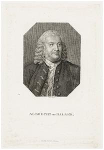 Portret van Albrecht von Haller (1708-1777)