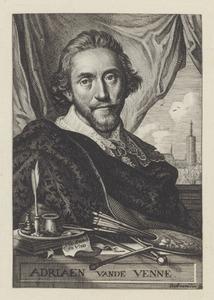 Portret van Adriaen Pietersz. van de Venne (....-1662)