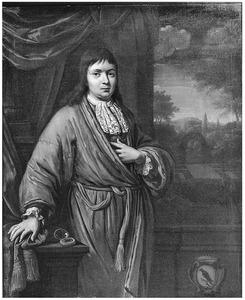 Portret van een jonge man uit de familie Fullens