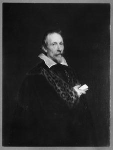 Portret van Jan van den Wouwer (Woverius) (1576-1636)