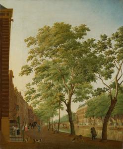 De Keizersgracht in Amsterdam tussen de Molenstraat en de Runstraat