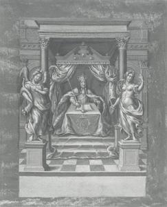 Verheerlijking van koning Christiaan V van Denemarken