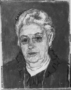 Portret van Catharina Lamberta van Cooten-Harman (1846-....)